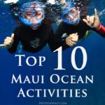Top 10 Maui Ocean Activities