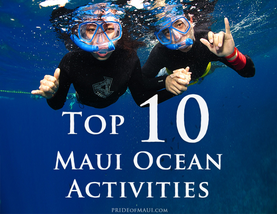 Top 12 Maui Ocean Activities