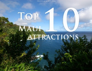 top 10 maui attractions