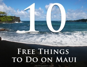 free things on Maui