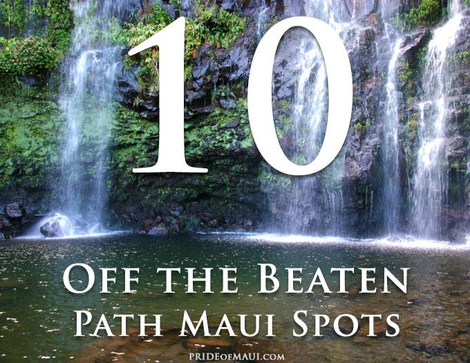 Off the beaten path Maui