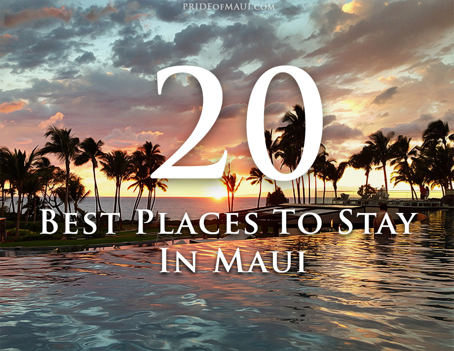 Best Places to Stay on Maui infographic