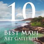 Top 10 Art Galleries on Maui