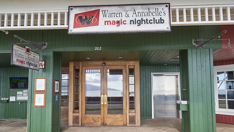 Warren and Annabelles Magic Nightclub.