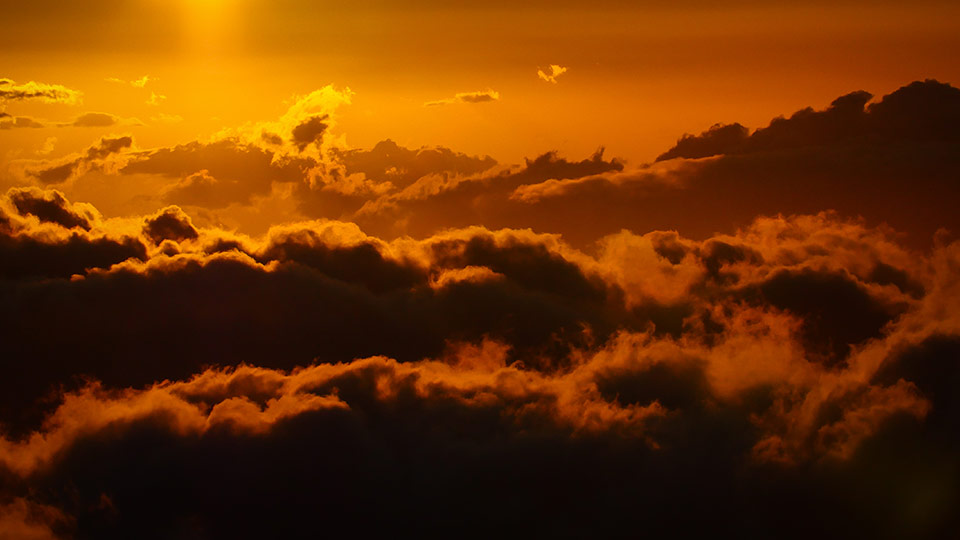 Romantic Sunrise at Haleakala Crater