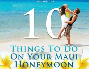 honeymoon Maui Hawaii