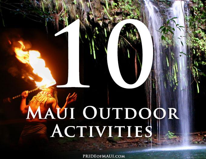 Top 10 Maui Outdoor Activities