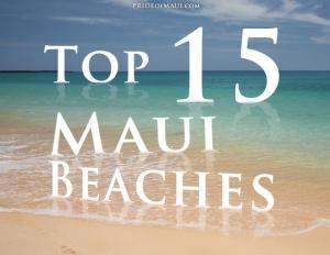 15 Maui beaches