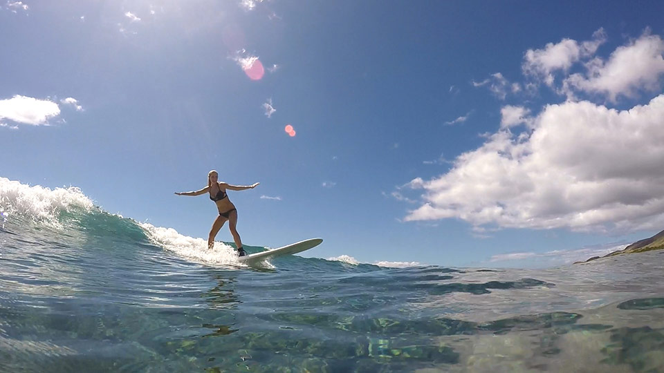 catch some surf