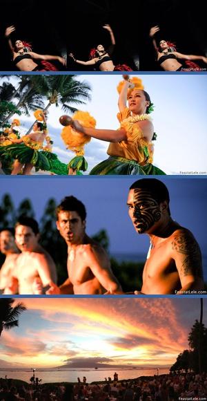 luau maui hawaii