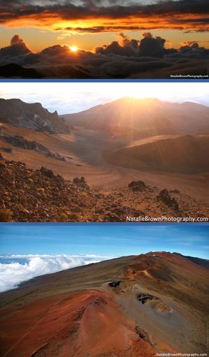 sunrise haleakala volcano