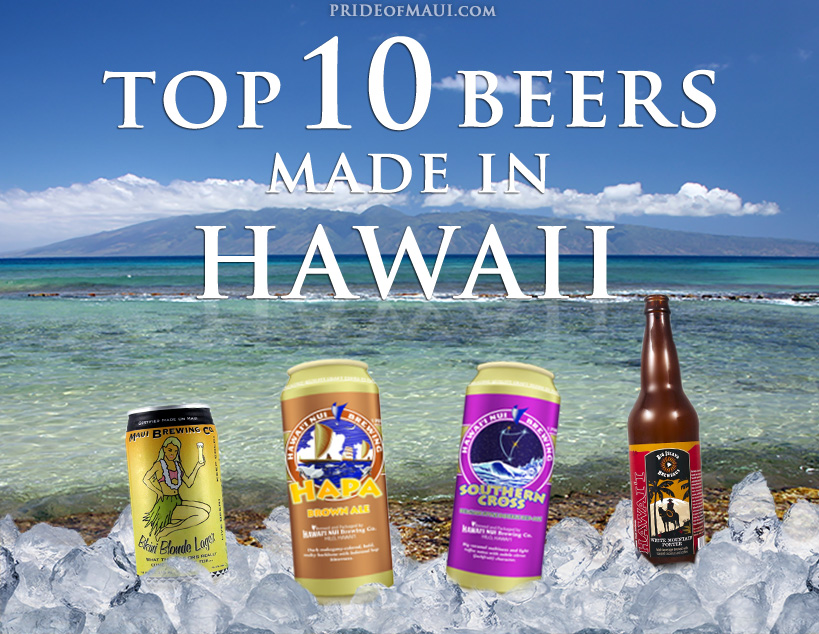 top 10 beers made in hawaii