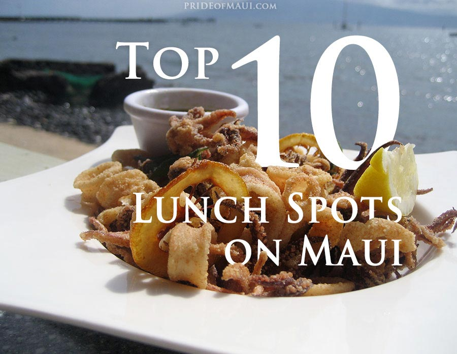 maui lunch spots to eat