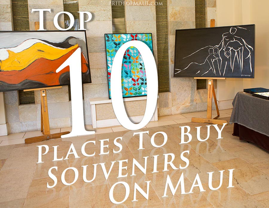 Buy Souvenir Gifts On Maui