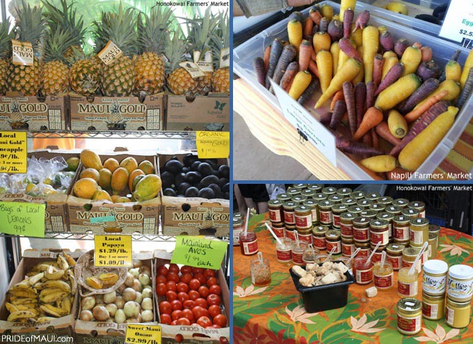 farmers markets maui