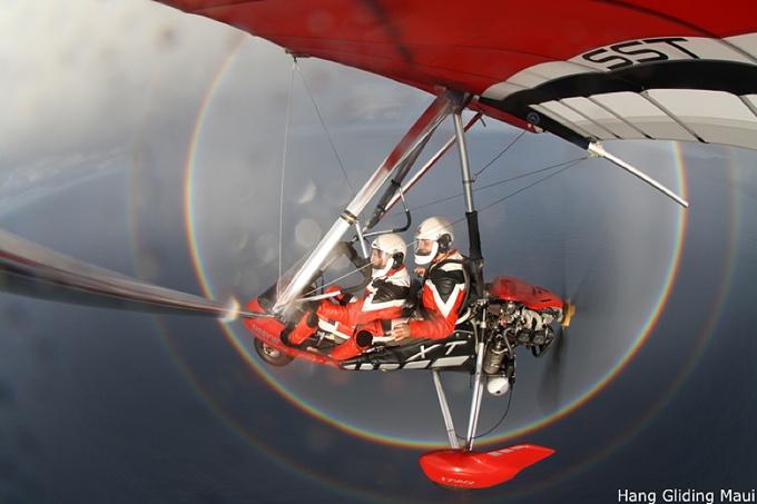 power hang gliding hana