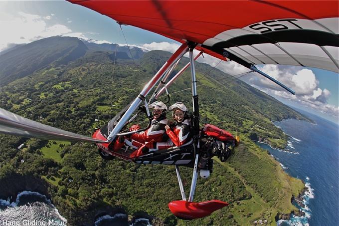 maui hang gliding tours