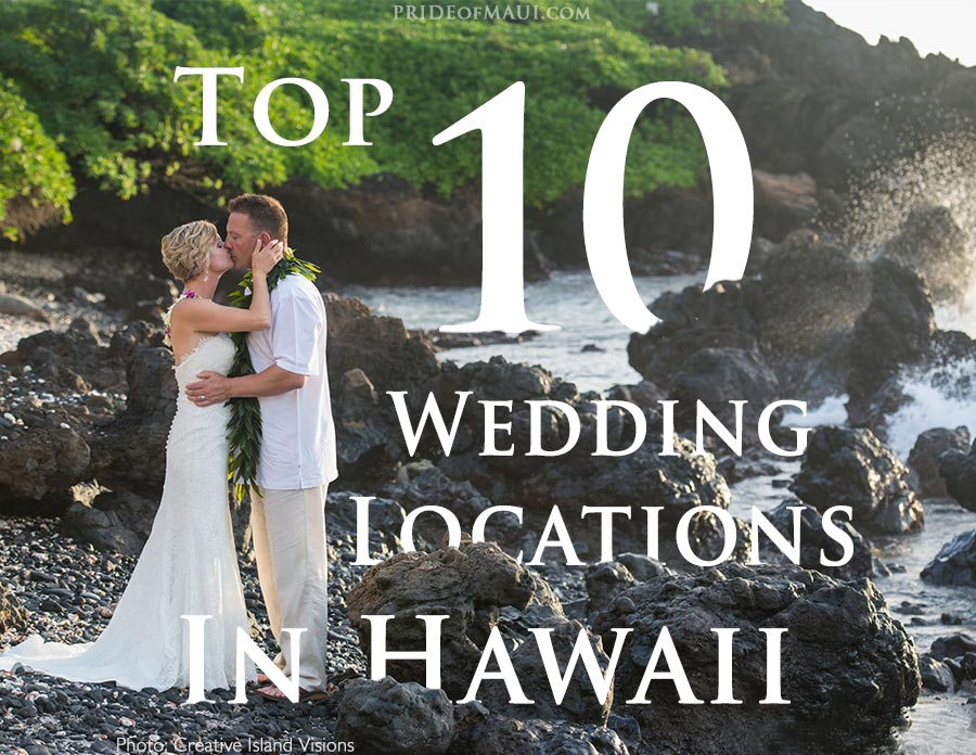 Hawaii wedding spots wedding ideas 2018 for Popular wedding registry locations