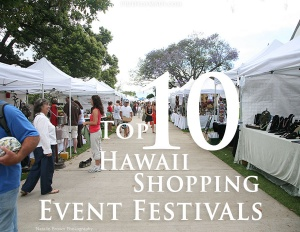 best shopping festivals in hawaii