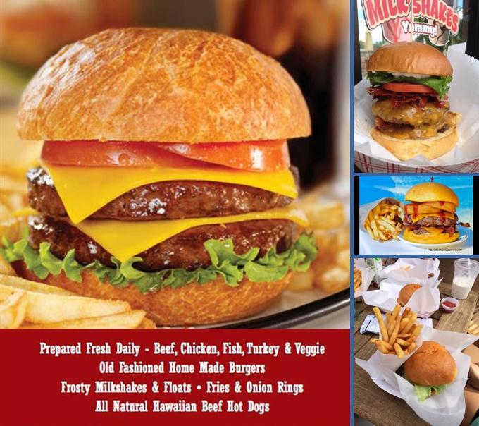 Stewz Maui Burgers