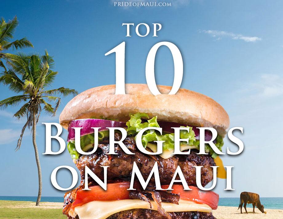 best Maui burgers