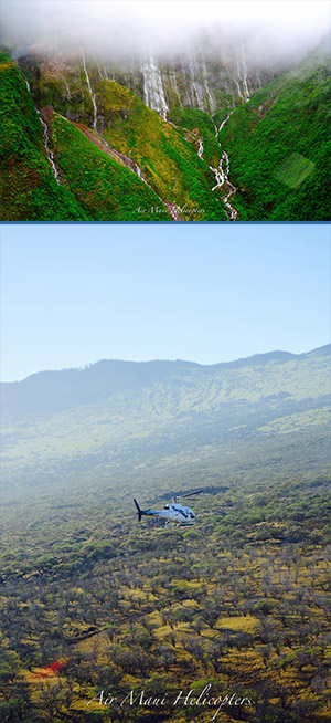 helicopter tours in maui