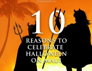 Maui Halloween