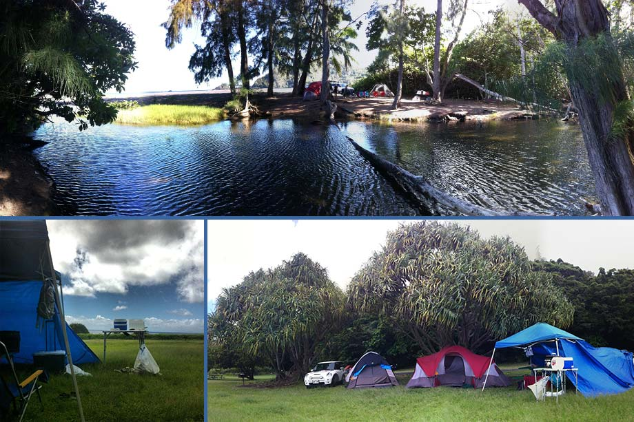 campsites in hana maui hawaii