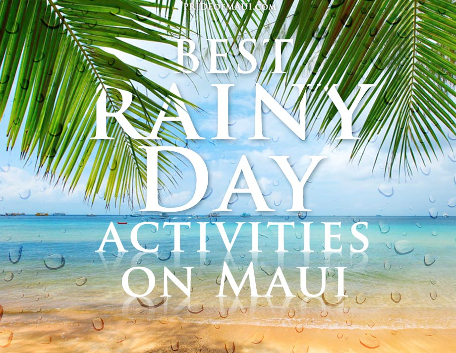 Top 10 Rainy Day Activities on Maui