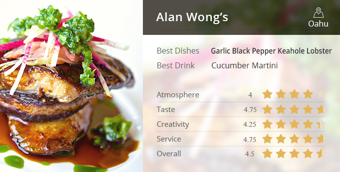 Best Restaurants In Hawaii 1 Alan Wong S Oahu