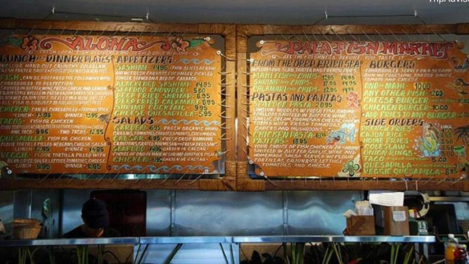 paia fish market menu