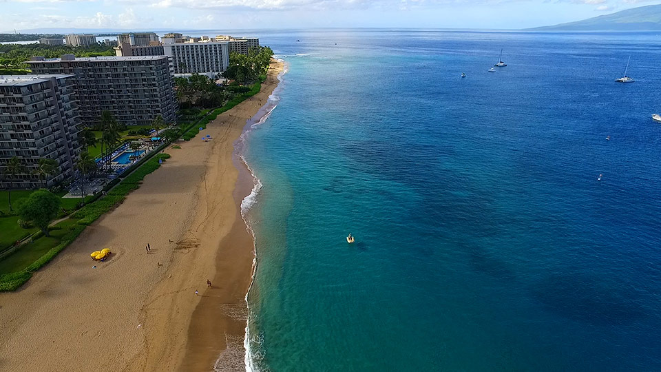 Kaanapali Beach Is A Picturesque Surf Break In Just Outside The Alii And To Right Of Marriott Consistently Ranked