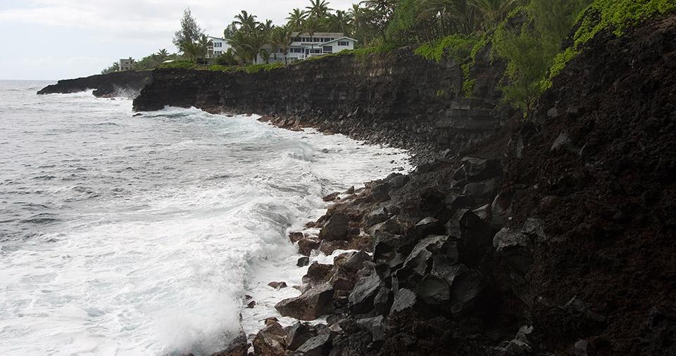 Ocean Coastline of Hawi.