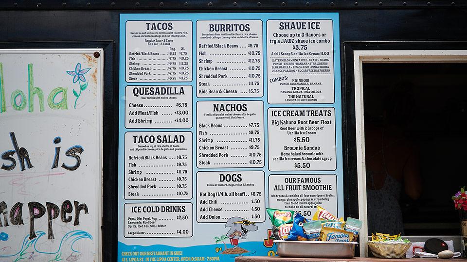 Jawz Fish Tacos
