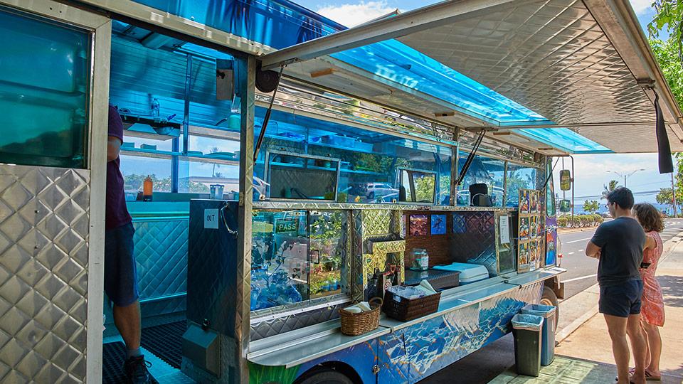 kinaole food truck maui