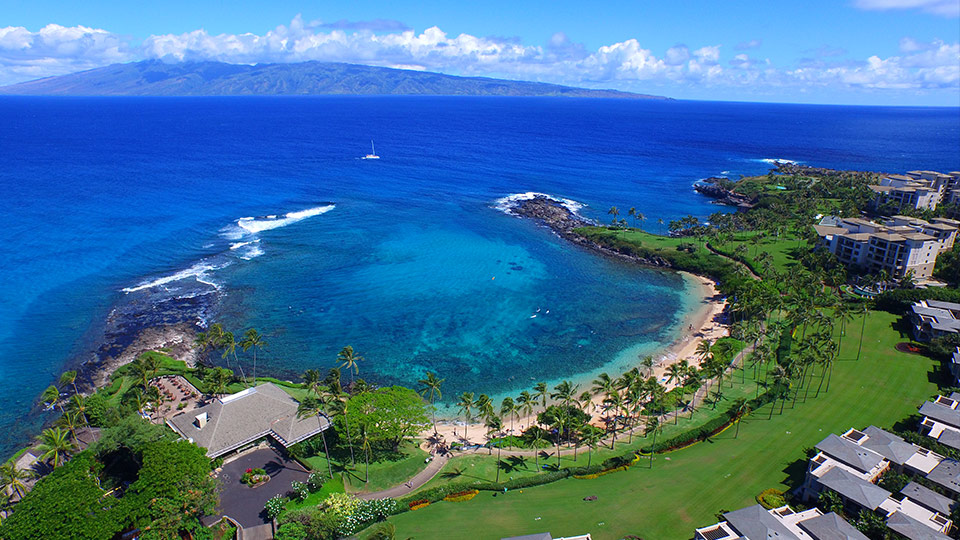 Kapalua Bay Is One Of The Most Beautiful Sheltered Beaches In Hawaii Resort And Inium Communities Mostly Dominate Surrounding Area