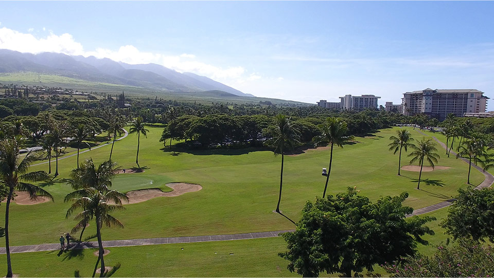 hawaii maui golf