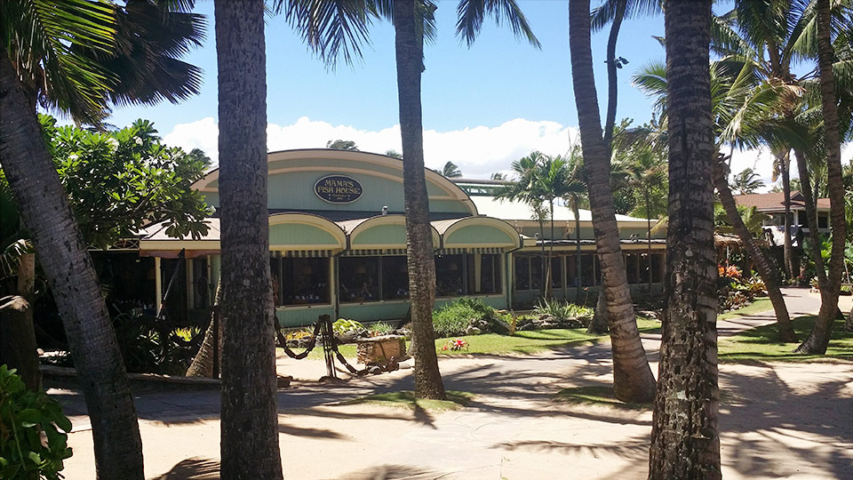 Top 10 lunch spots on maui best places to eat lunch for Mamas fish house lunch menu