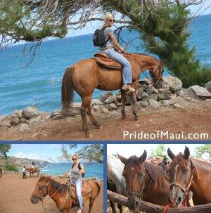 horseback Maui