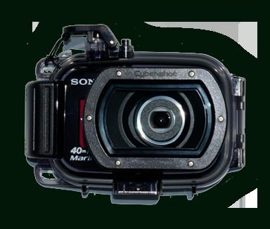 Sony Cybershot digital underwater camera