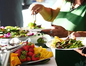 Self serve salad bar.