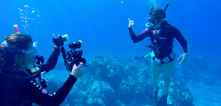 Underwater photography & video