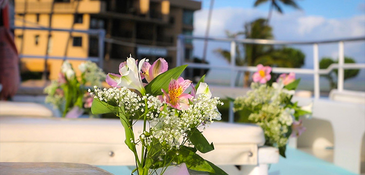 Maui Hawaii Best Private Charter Flowers