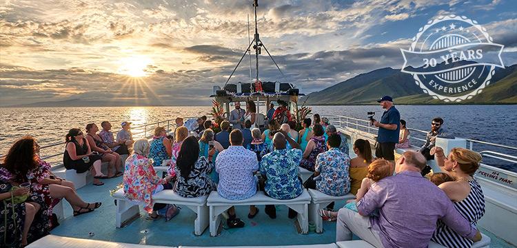 Maui Hawaii Best Private Charter Sunset Deck