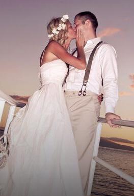 Private Charter Maui Hawaii Wedding Cruise