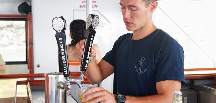 Beer on Tap Maui Snorkel Tour
