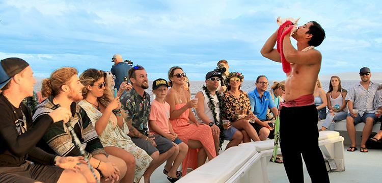 Sunset Luau Boat Tour Maui Hawaii Best