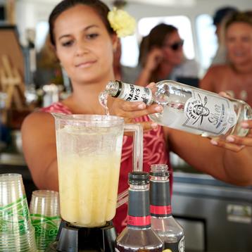 Frozen Cocktail Maui Bar Cruise